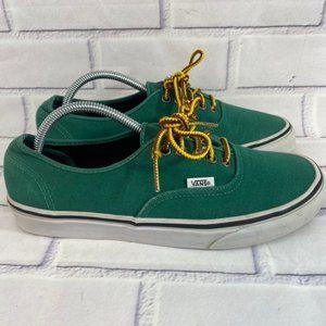 Vans low top skate green shoe sneaker